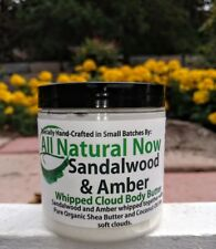 Sandalwood Amber Fragrance Whipped Cloud Body Butter All Natural Now