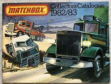 1982/83 MATCHBOX COLLECTOR CATALOGUE