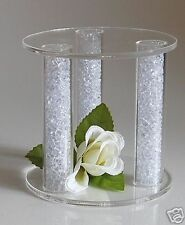 MINI ACRYLIC CAKE SEPARATOR CAKE TOPPER WEDDING STAND
