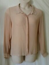 Polyester Long Sleeve Cotton On Solid Tops & Blouses for Women