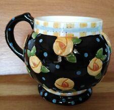 Mary Engelbreit 1997 Floral and Polka Dots Mug