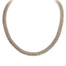"""18"""" Adjustable Gold Toned and Clear Rhinestone Twisted Necklace"""