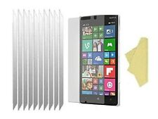 [10 Pack] Ultra Clear Screen Lcd Protector Cover Guards for Nokia Lumia 830