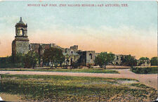 Postcard Texas TX Mission San Jose San Antonio ca 1907-14 Printed in Germany