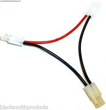 C8029 Tamiya Battery Charging Harness for 2 Packs Series Adapter RC 16AWG