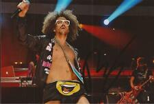 LMFAO: REDFOO SIGNED 6x4 LIVE PHOTO+COA *SEXY AND I KNOW IT* *PARTY ROCK*
