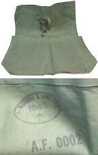 GB 39-45 : Sac imperméable en toile caoutchouté - bien daté WW2 - Bag Waterproof