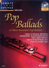 Schott Flute Lounge Pop Ballads Play-Along Noten CD Querflöte Dirko Juchem