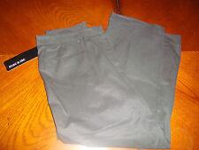 "Womens $49.00  Mac & Jac Size 8 Black Capri Crop Pants 25"" Inseam"