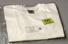 Nuevos chicos/chicas Jerzees Zt180 Blanco T-Shirt edad 9-10 (tag741)