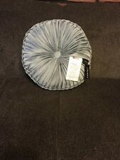 J Queen/Queen Street Kingsley Tufted Round Decorative Pillow French Blue