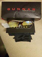 Gunnar Optiks CYP-02301 Gaming and Computer Eyewear Glasses Cypher  Amber Tint