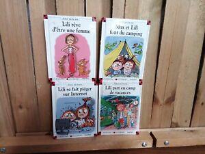 Lot de 4 livres Max et Lili et leurs histoires édition 2010