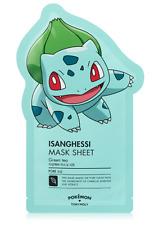 [Tony Moly]Mask Sheet Isanghessi Pokemon 1ea 21g 0.7oz Bulbasaur Korea Cosmetics