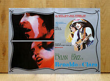 RENALDO E CLARA fotobusta poster Bob Dylan Joan Baez Rolling Thunder Revue AO17