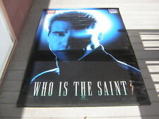 THE SAINT PROMO MOVIE BANNER 1996 VAL KILMER VINTAGE APP 5 FT BY 7 FT HUGE