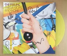The Feeling Twelve Stops And Home YELLOW VINYL 2LP Autographed SIGNED SEALED