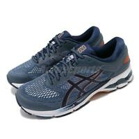 Asics Gel-Kayano 26 Blue Peacoat White Men Running Shoes Sneakers 1011A541-401