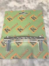 Kluson Kstopst-N Stop Tailpiece Machined Steel Nickel Us Guitars Only