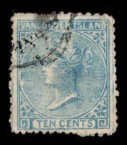 #6 British Columbia Canada used  forgery