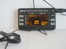 Clifton Metronome & Tuner MT-40