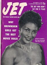 Jet Magazine October 16 1952 Suzette Harbin Brownskin Beauty Boy not eat 15 year