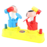 Plastic Kids Double Battle Board Game Toy Stress Rescuing Interactive Games_ns