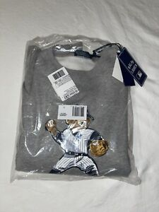 Limited MLB Polo Ralph Lauren Polo Bear New York Yankees Sweatshirt Size Large L