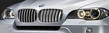 BMW OEM 2007-2013 E70 E70 LCI X5 E71 E72 X6 2008-2014 Titanium Grille Pair New