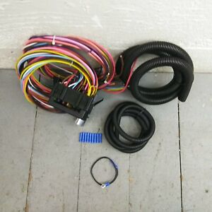 1936 - 1938 Lincoln 8 Circuit Wire Harness fits painless complete circuit new