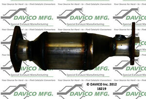 Catalytic Converter-Exact-Fit Front Right Davico Exc CA 18219
