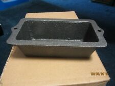 Cast Iron Loaf Pan- 3x6- CASE OF SIX 6!!!! MIni loaf breads or cornbread