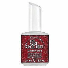 ibd 56519 UV LED 0.5 Oz Just Gel Glitter Polish - Cosmic Red
