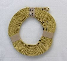 """7/16"""" Tubular Kevlar High Power Rocketry Recovery Harness with 3 Presewn Loops"""