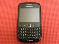 BlackBerry Curve 8530 256MB Black Verizon Wireless QWERTY Cell Phone