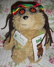 TED Talking Movie Rasta Dreadlock Teddy Bear 8 Inch R-Rated Seth MacFarlane New