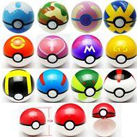 Pokemon Pokeball Pop-up 7cm Plastic Ball Toy Pocket Monster Games For Kids Gift