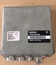 Bmw e36 325 TDS ECU ECM STG moteur taxe périphérique 0281001381 2246483 3v2