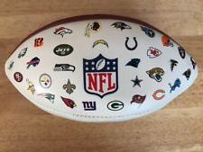 Castrol Edge Promotional Limited Edition Nfl Wilson All Team Logos Football �