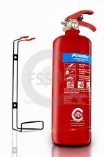 Bsi Kitemarked 2KG DRY POWDER ABC FIRE EXTINGUISHER HOME OFFICE CAR VANS KITCHEN