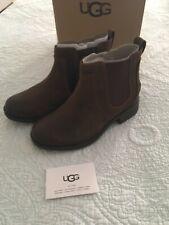 UGG Australia Bonham II Waterproof Chelsea Bootie Chipmunk Size 8 New