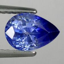 2.05 ct* LUSTROUS _MASSIVE * NATURAL SRI LANKAN BLUE SAPPHIRE PEAR  * 191T