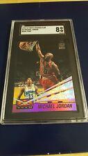 1993-94 Stadium Club Michael Jordan Beam Team #4 SGC 8 NM/MT