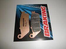 BRAKING PASTIGLIE FRENO ANTERIORI 716CM55 PER HONDA NC X 700 2012 2013