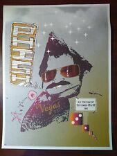 Phish Fall Tour 2000 Poster Las Vegas Trey Anastasio original Fear and Loathing