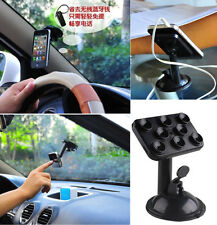 360°Windshield in Car Kit Mount Holder Cradle For HTC iPhone 6 Samsung BUU A