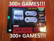 New 100% Authentic Super Nintendo SNES Classic Edition Mini ~300 Games