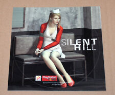 1999 Silent Hill Round Sticker for the Old Big Playstation 1 PS1 very Rare Nurse