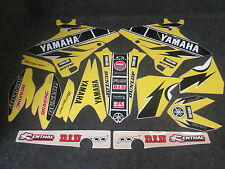 Yamaha YZ125 YZ250 2015-2017 Yellow 60TH Anniversary graphics kit GR1434