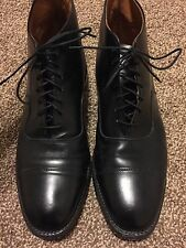 Extremely Rare Brantley Allen Edmund Leather Boot Men's Dress Shoes sz 8 1/2 D